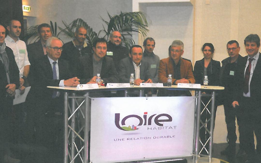 DSL signe une charte RSE avec Loire Habitat