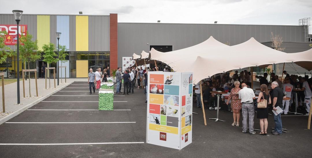 Crémaillère ! DSL inaugure ses nouveaux locaux Rive de Gier